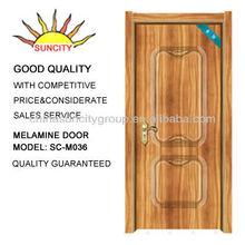 apartment melamine prefinished wood door