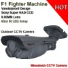 New Korea style night hawk CCTV design 1/3'' Sony CCD Vandalproof 4dot Matrix Led array IR camera IR 80M