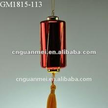 2014 New year red glass lantern decoration