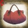 2013 Fashion Red Canvas Handbag For Women