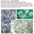 pvc, plastic raw material, transparent pvc granule