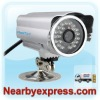HooToo HT-IP212 (APM-J0233) Outdoor Wireless Waterproof IP Camera MJPEG CMOS with IR Cut Filter US Version - Silver