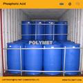 El ácido fosfórico 85% 330 tambores kg