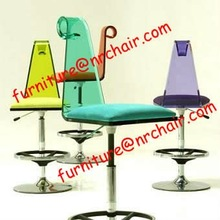 sale event rental acrylic swivel bar stool high chair