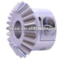 CNC machining bevel gear,straight teeth bevel gear with set screw,umbrella bevel gear