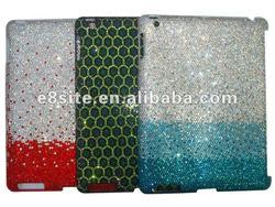 Rhinestone Bling Diamond Hard Cover Case For iPad 2