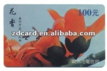 High quality full color ABS/PET/PS card