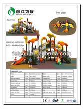 2012 Newest Playground,Outdoor slide, Play center