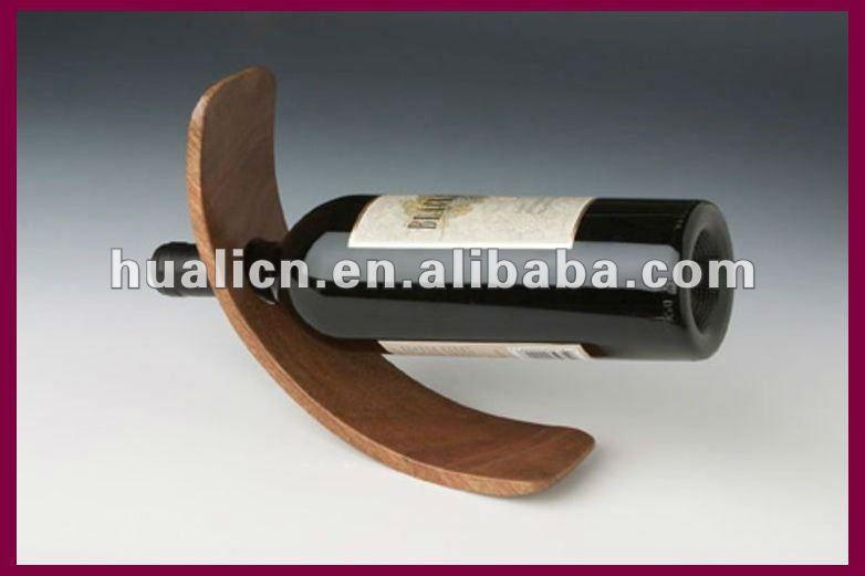 Magic Wine Bottle Holder Wood Wooden Wine Bottle Holder