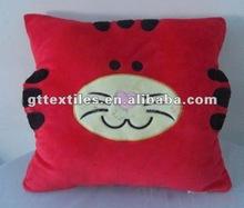 plush animal shape cushion