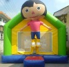 dora kids air/inflatable small bouncer