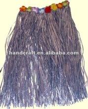 Hawaiian Hula Skirt Purple