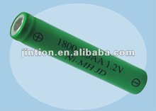 Rechargeable Ni-MH 4/5AA 1800mAh 1.2V Battery(2012 Hot Sales)