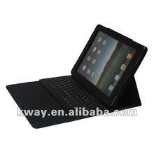 Bluetooth Wireless Keyboard PU Leather Case for the New iPad 3 / iPad 2 KOA031