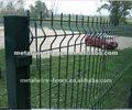 Recubierto de pvc alambre de púas de la cerca ( fabricación )