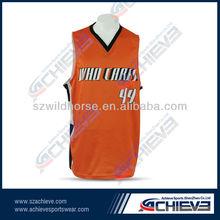 Item for 2014 style basketball jersey/uniform/wear supplying