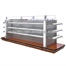 Fashion Designer Cosmetic Store/Lighted Glass Display Shelf
