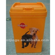 Pet Dog Food Storage Container, Dog and Cat Food Canister