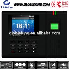 Finger print machine attendance clock recorder tcp/ip