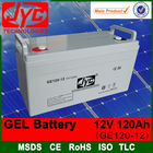 gel battery 12v 120ah high voltage battery,12v solar battery for solar wind power ups eps system