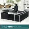 DB031 Glass Modern Office Furniture Desk