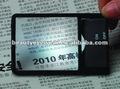 2013 led lupa tarjeta de gafas de lectura