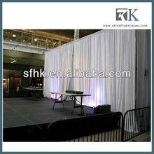 RK velvet stage curtains for sale