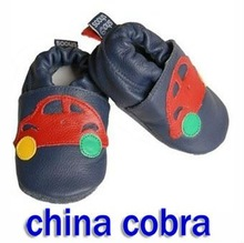 2012 kids shoes soft sole leather cheap baby shoes