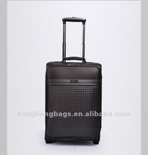 New Business Trolley Luggage Sets Suitcase PU travel luggage case