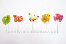 Fish shape soft jelly candy