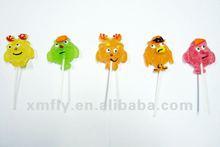 Shape jelly pops candy