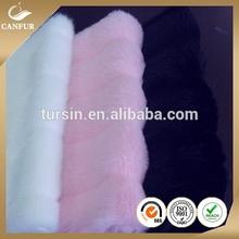 Plain Strip cutting High Pile Fake fur