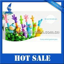 animal finger promotion pen