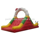 commercial inflatable caterpillar dry slide