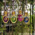 Billige großhandel anhänger mit dekorativen parfüm-flaschen