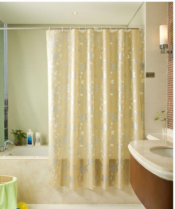 Binario per tenda doccia per vasca da bagno ad angolo di plastica doccia tenda anelli doccia - Tenda per vasca da bagno ...