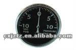 standard pressure gauge with snap in plastic window