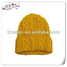 Yellow crochet customize hats