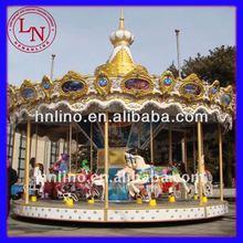 Classical!! Amusement Animal Merry Go Round Musical Amusement Park Family Carousel Rides