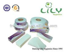 50M length 7.5cm width 90gsm non woven waxing strips