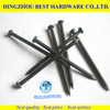 black steel concrete nail product