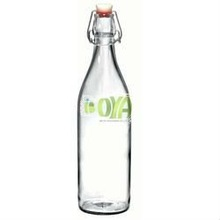 250ml/500ml/750ml/1000ml Swing Top Round Glass Bottles With Wire Ball Stoppers
