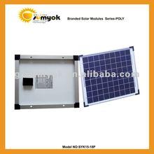 15w poly solar module SYK15-18P solar cell panel