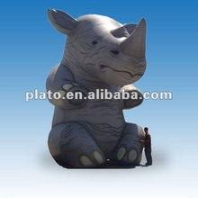 Inflatable Rhino for advertising