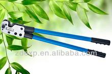 Para ct-38 8-38 mm2 de al/cu terminales de cable, mecánica manual de herramientas que prensan para los no- terminales aislados, cable terminal herramienta que prensa, arrugador