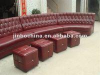Leisure corner restaurant sofa