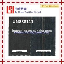 (UN888111) cotton Red Selvage denim twill fabric
