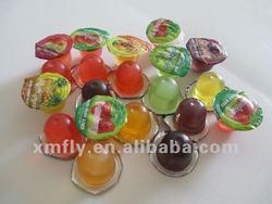 Mini fruit jelly