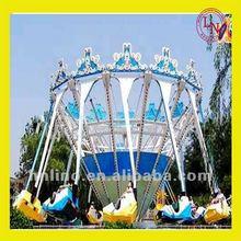 Beautiful!! deluxe amusement equipment super swing