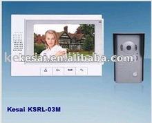 """Color Video Door phone, Ultra-slim 7"""" color video doorphone ,video door bell"""